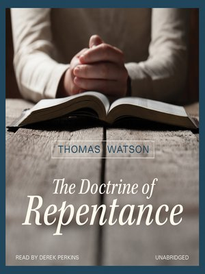 cover image of The Doctrine of Repentance