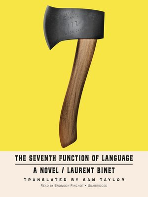 cover image of The Seventh Function of Language