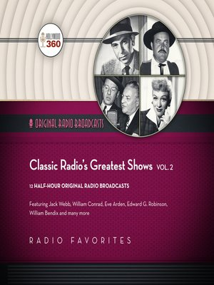 cover image of Classic Radio's Greatest Shows, Volume 2