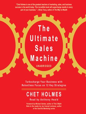 cover image of The Ultimate Sales Machine