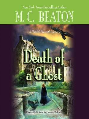 cover image of Death of a Ghost