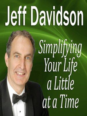 cover image of Simplifying Your Life a Little at a Time