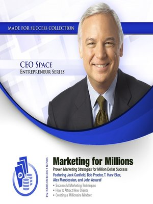 cover image of Marketing for Millions