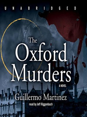 cover image of The Oxford Murders