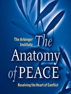 cover image of The Anatomy of Peace