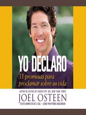 cover image of Yo declaro