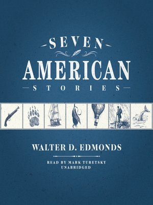 cover image of Seven American Stories
