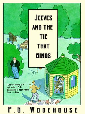 cover image of Jeeves and the Tie That Binds