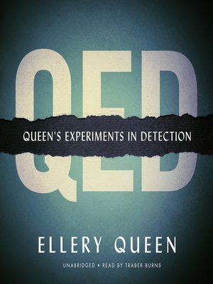cover image of QED: Queen's Experiments in Detection