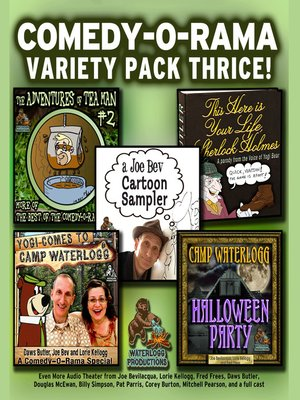 cover image of Comedy-O-Rama Variety Pack Thrice
