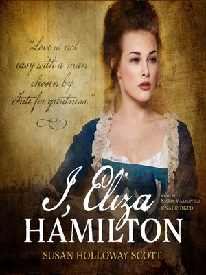 cover image of I, Eliza Hamilton