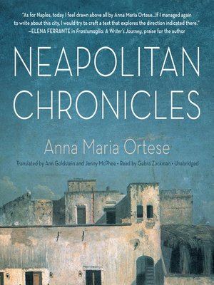 cover image of Neapolitan Chronicles