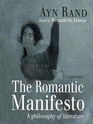 cover image of The Romantic Manifesto