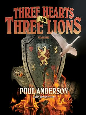cover image of Three Hearts and Three Lions