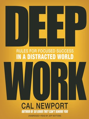 cover image of Deep Work