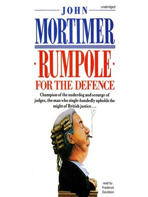 cover image of Rumpole for the Defense