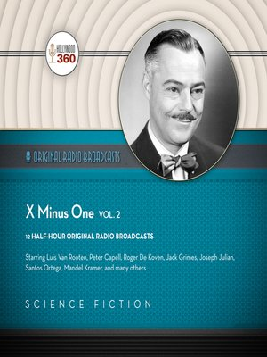cover image of X minus One, Volume 2