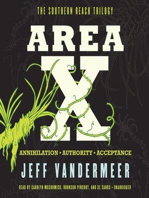 cover image of Area X