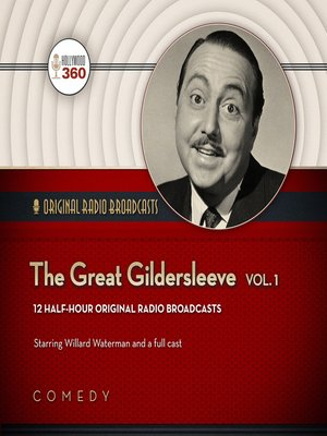 cover image of The Great Gildersleeve, Volume 1