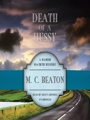 cover image of Death of a Hussy