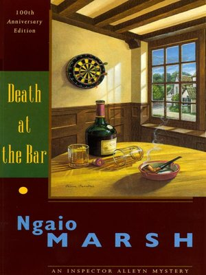 cover image of Death at the Bar