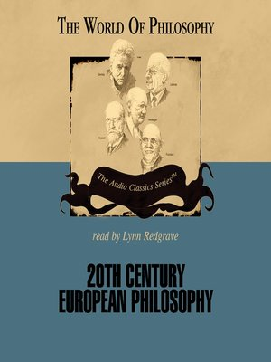 cover image of 20th Century European Philosophy