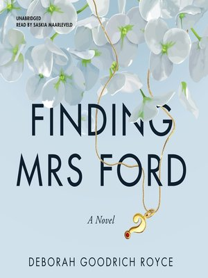 cover image of Finding Mrs. Ford