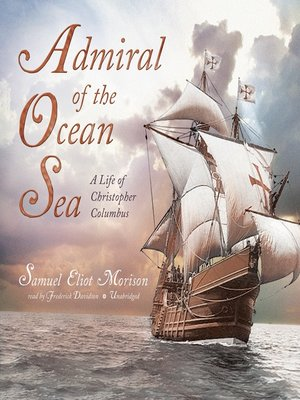 cover image of Admiral of the Ocean Sea