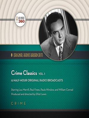 cover image of Crime Classics, Volume 1