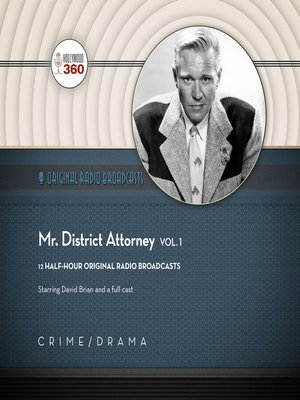 cover image of Mr. District Attorney, Volume 1