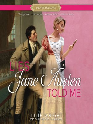cover image of Lies Jane Austen Told Me