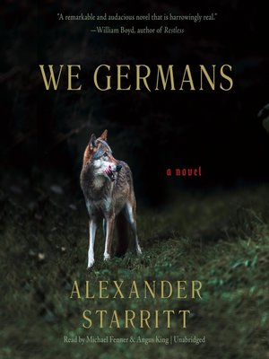 cover image of We Germans