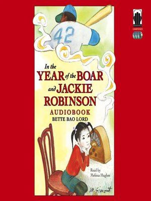 cover image of In the Year of the Boar and Jackie Robinson