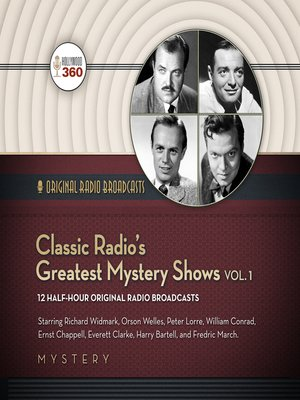 cover image of Classic Radio's Greatest Mystery Shows, Volume 1
