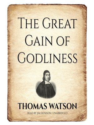 cover image of The Great Gain of Godliness