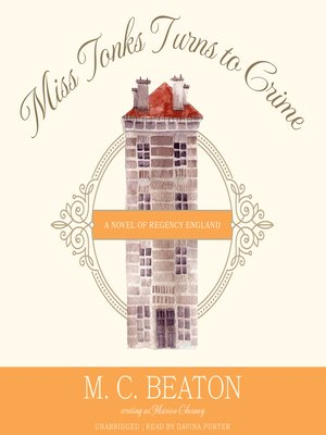 cover image of Miss Tonks Turns to Crime