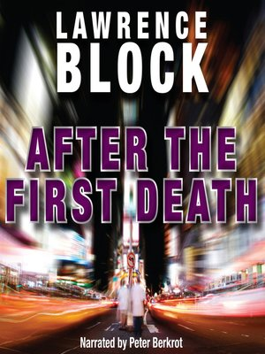 cover image of After the First Death