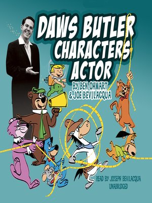 cover image of Daws Butler, Characters Actor