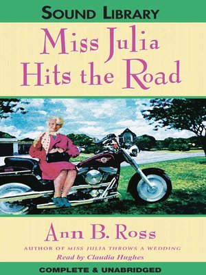 cover image of Miss Julia Hits the Road