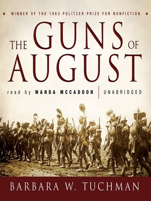 cover image of The Guns of August