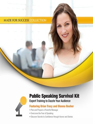 cover image of Public Speaking Survival Kit