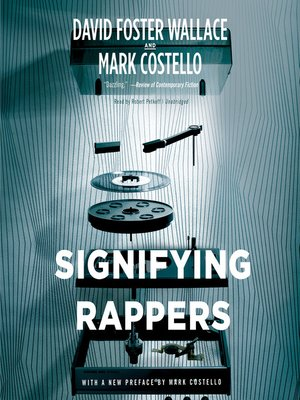 cover image of Signifying Rappers