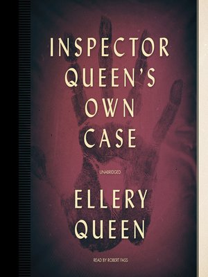 cover image of Inspector Queen's Own Case