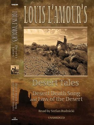 cover image of Louis L'Amour's Desert Tales