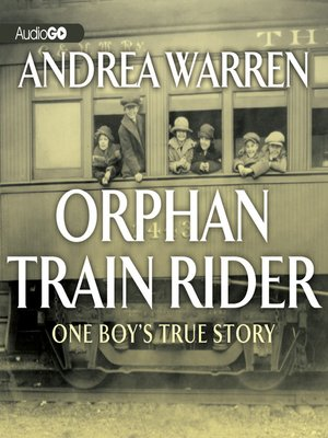 cover image of Orphan Train Rider