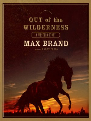 cover image of Out of the Wilderness
