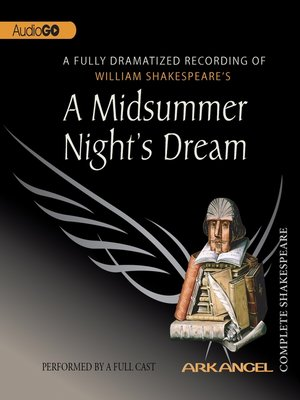 cover image of A Midsummer Night's Dream