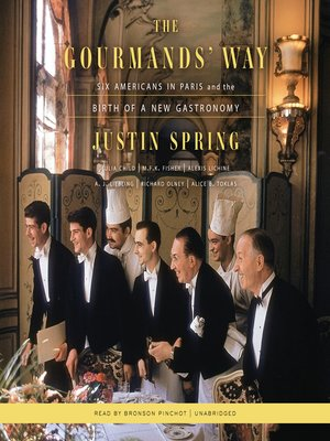 cover image of The Gourmands' Way