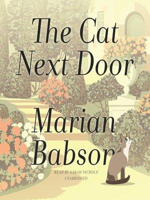 cover image of The Cat Next Door
