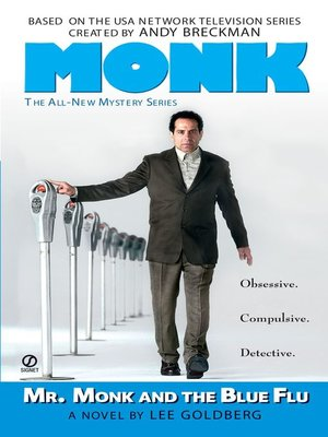 cover image of Mr. Monk and the Blue Flu